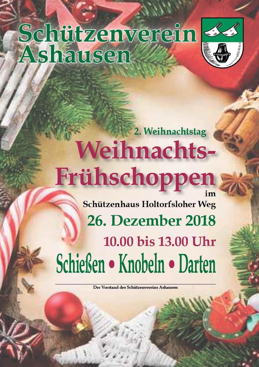 Weihnachtsfrühschoppen Schützenverein Ashausen Und