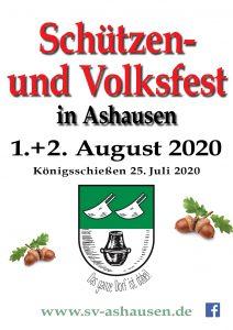 Schützenverein Ashausen Schützenfest 2020 Ashausen