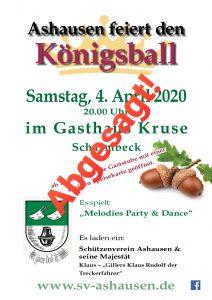 Schützenverein Ashausen Königsball Ashausen