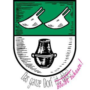 Ashausen Wappen Das ganze dorf bleibt zuhause Schützenverein Ashausen