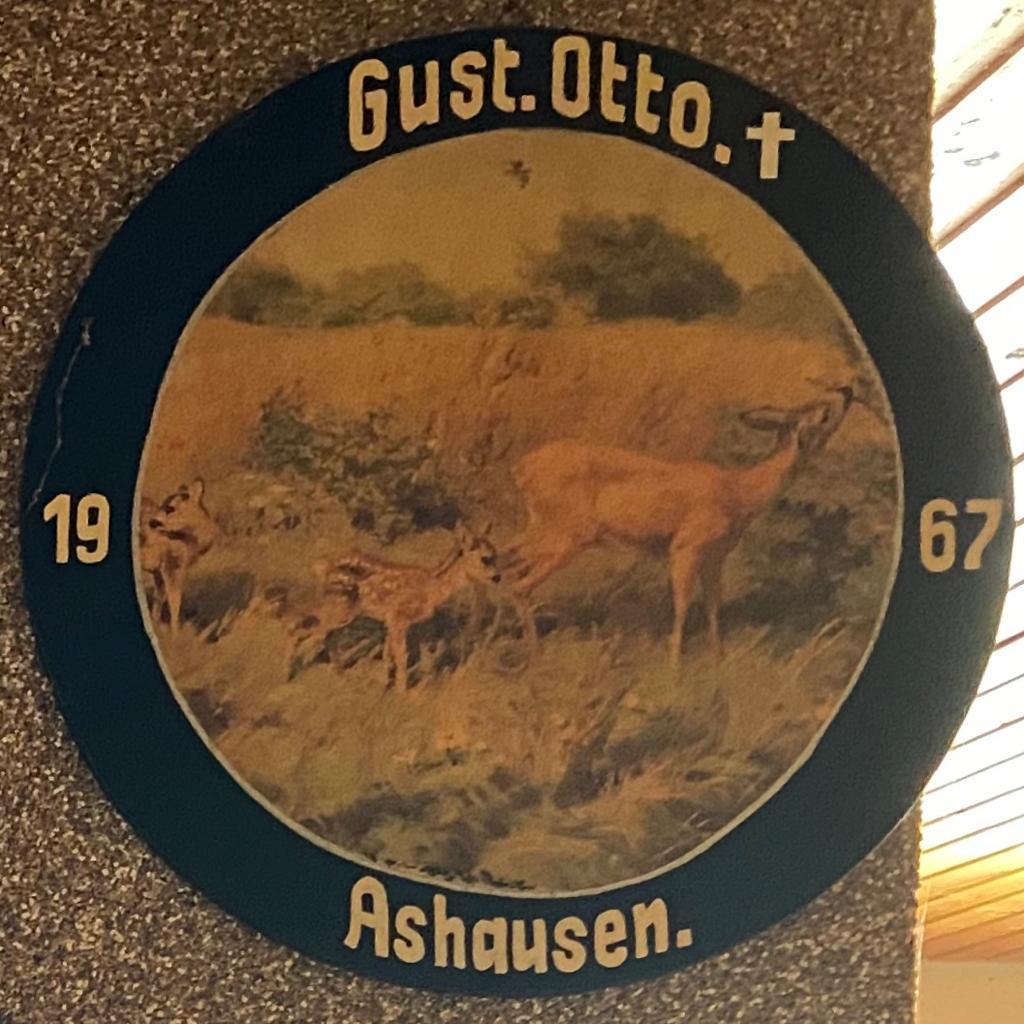 Schützenkönig Ashausen 1967 Gustav Otto Schützenverein Ashausen