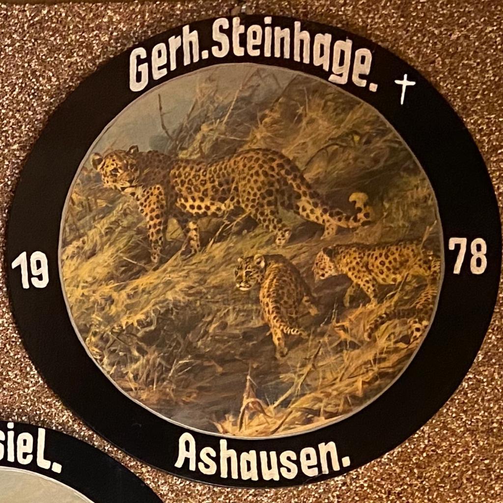 Schützenkönig Ashausen Schützenverein Ashausen König 1978 Gerhard Steinhage  Stelle