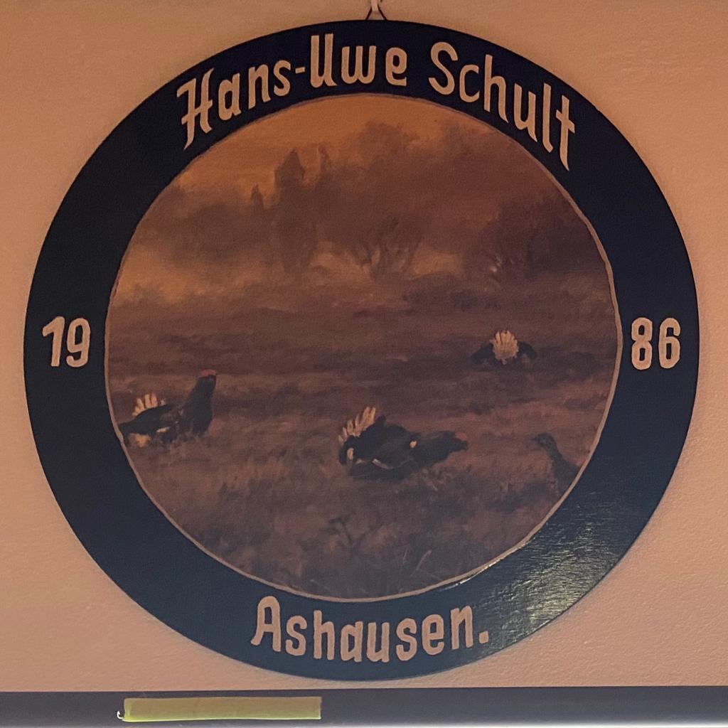 Schützenkönig Ashausen Hans-Uwe Schult 1986 Schützenverein Ashausen Stelle