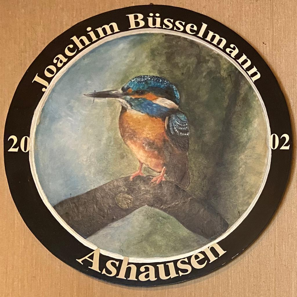 Joachim Büsselmann 2002 Schützenkönig Ashausen