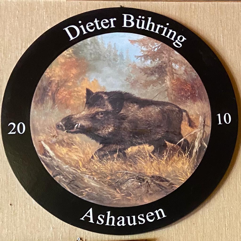Dieter Bühring 2010 / 2011 Schützenkönig Ashausen