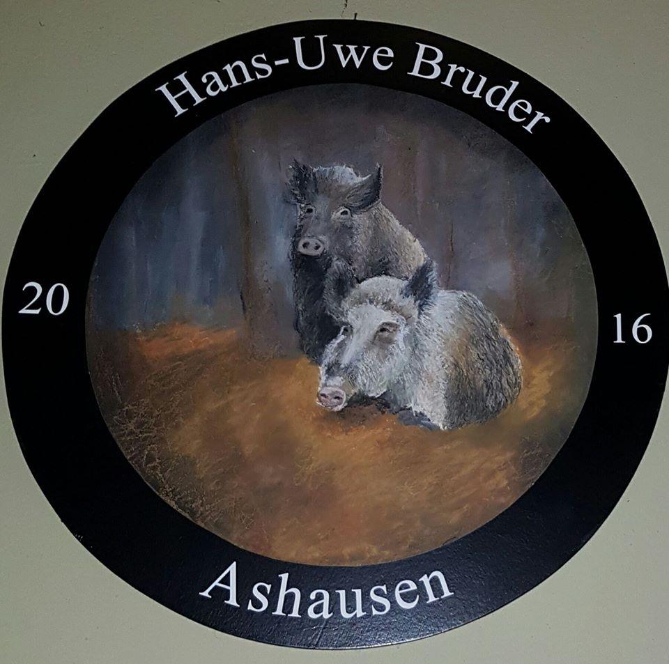 Schützenkönig Ashausen Hans-Uwe Bruder  2016 / 2017