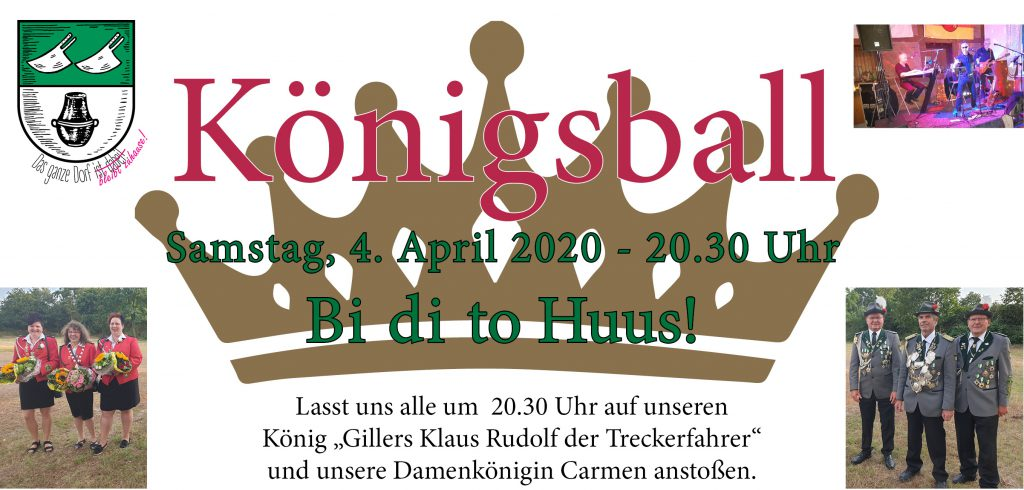 Schützenverein Ashausen Königsball 2020