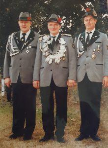 Schützenkönig Ashausen 2001